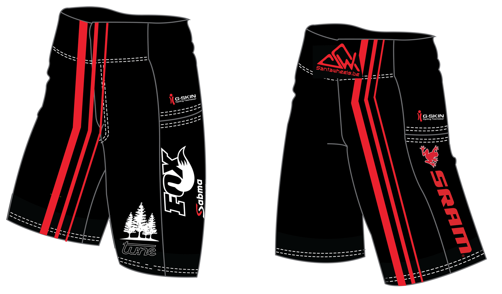 Equipement Santawheeks - Short Freeride