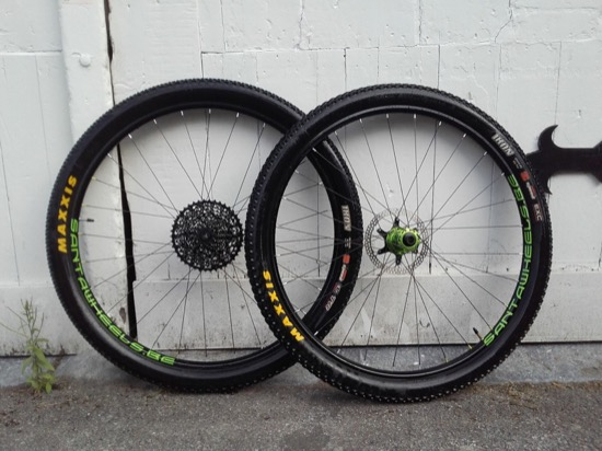 Roues VTT ZTR Crest 29er, Industry Nine Troch Acid Green